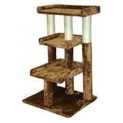Go Pet Club Brown 35 in. Cat Tree Furniture