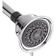 Design Essential Showerhead, Fixed-Mount, 3 Settings, Chrome
