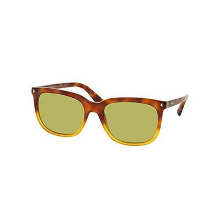 1a7a95bb431 Prada Designer Womens Sunglasses - Journal PR12RS 1AB0A7 - Black Wayfarer  Frame with Grey Gradient Lens