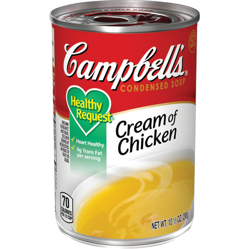Campbell's Condensed Healthy Request Cream of Chicken Soup, 10.5 oz.
