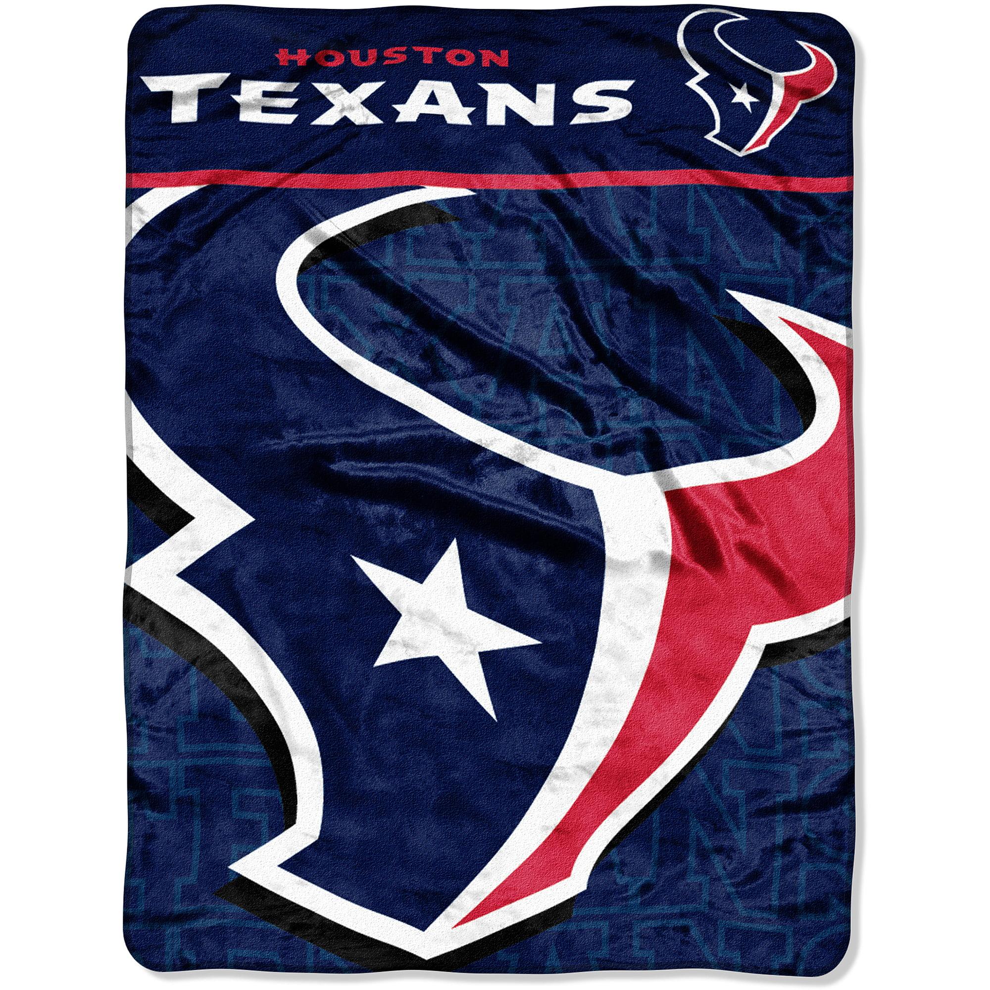 NFL Texans 46x60 Micro Raschel Throw