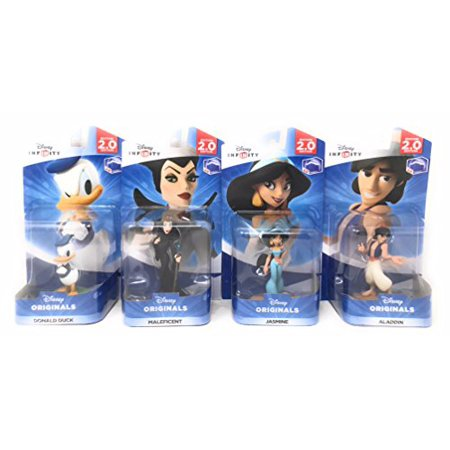 Disney Infinity 2.0 : Disney Originals Series Maleficent, Donald Duck, Jasmine & Aladdin (2.0 Series) - Not Machine Specific - Donald Duck Dress Up