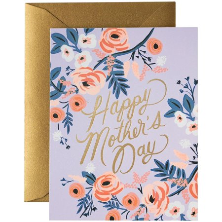 - Co. Rosy Mother's Day, Printed in the USA - eco-friendly By Rifle Paper