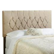 Mozaic Company Humble + Haute Halifax King Beige Upholstered Headboard