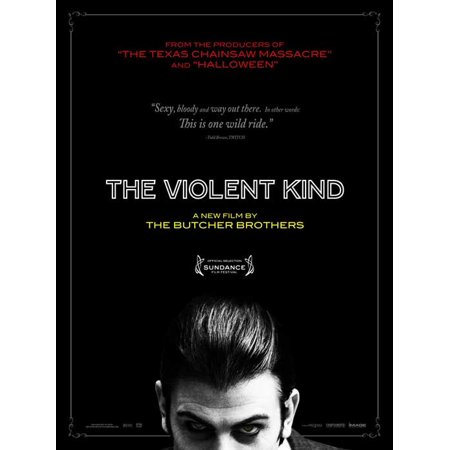 The Violent Kind POSTER Movie B Mini Promo (Halloween Hexe Kind)