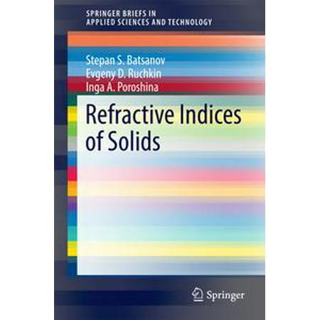 Refractive Index Refractometer (Refractive Indices of Solids - eBook )
