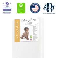 """Dream On Me, 2-In-1 Breathable Foam Two-Sided 3"""" Mini/Portable Crib Mattress"""