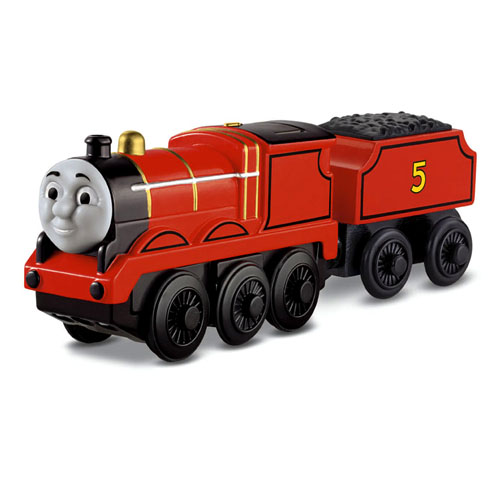 Fisher-Price Thomas the Train Wooden Railway Battery-Operated James