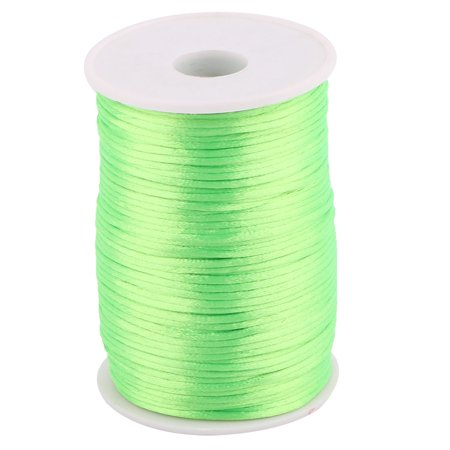 Nylon Chinese Knot Crafts DIY Braided Cord Light Green 2.5mm Dia 109 Yards - image 3 of 3