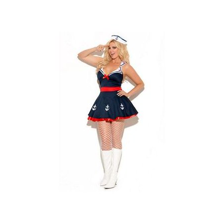 Diva Sailors Delight Costume 9967X Elegant Moments Navy - Sailor Pinup Costume