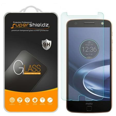 [2-Pack] Supershieldz for Motorola Moto Z Force Droid Tempered Glass Screen  Protector, Anti-Scratch, Anti-Fingerprint, Bubble Free
