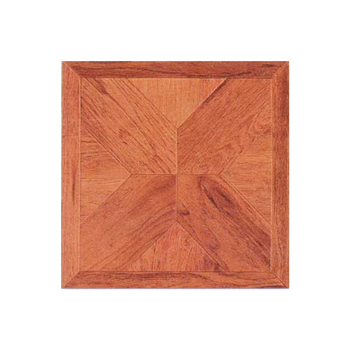 Home Dynamix 12'' x 12'' Luxury Vinyl Tile in Cherry Wood Cross