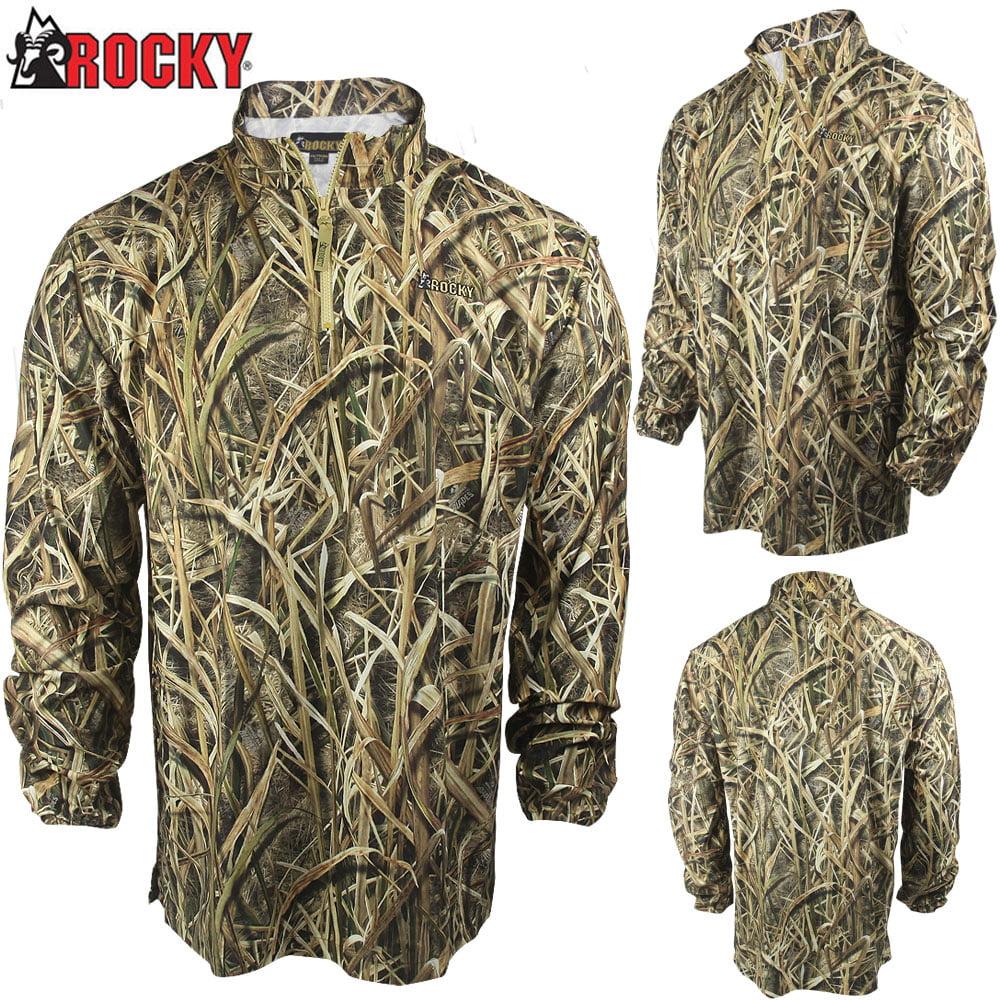 Rocky Waterfowler 1/4 Zip Shirt (XL)- MOSG