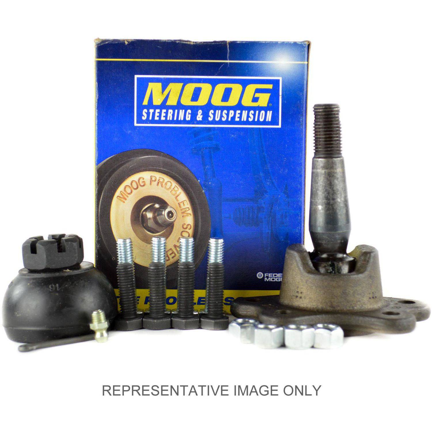 Moog K6292 Ball Joint OE Replacement, Front, Driver or Passenger Side, Upper