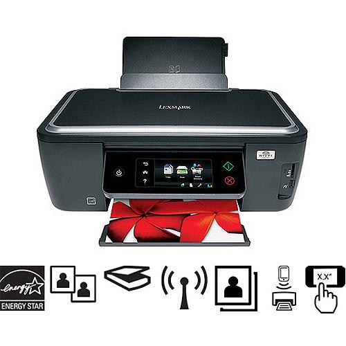 Lexmark Interact S605 Wireless All-In-One (AIO) Inkjet Printer/Copier/Scanner, Refurbished