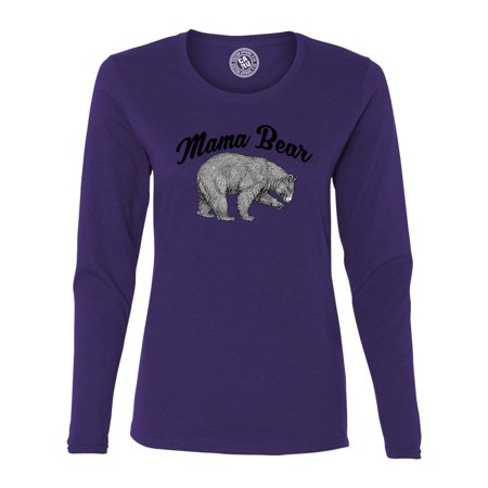 affordable price buy best fresh styles Mama Bear Shirt Womens Graphic Tees Long Sleeve T Shirt