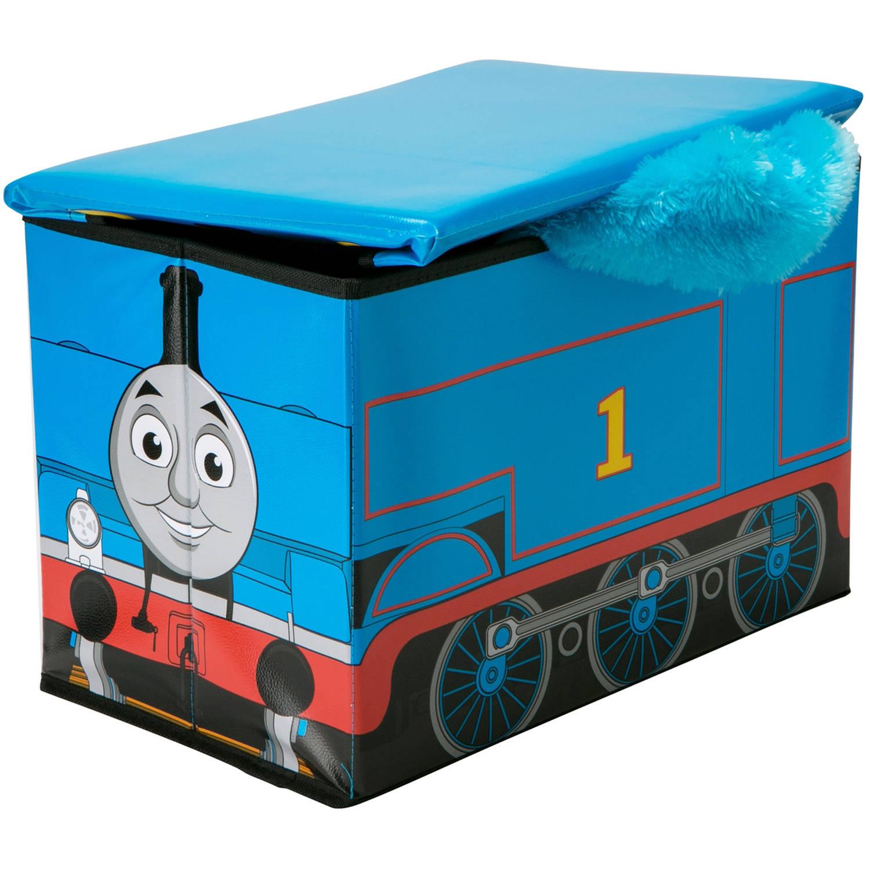 sc 1 st  Walmart & Thomas the Train Kidsu0027 Storage Ottoman - Walmart.com