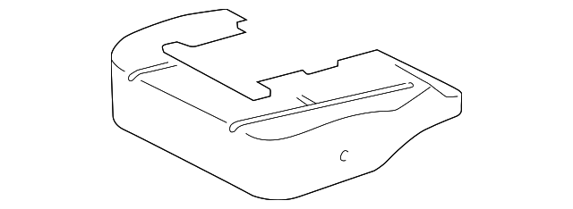 TOYOTA Genuine 71072-0C100-B1 Seat Cushion Cover
