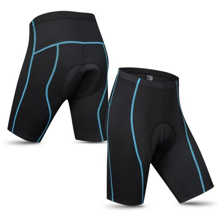 Lixada Men's Cycling Shorts Padded Bicycle Riding Half Pants Bike Biking (Best Bike Shorts For The Money)