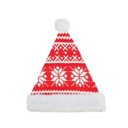 Northlight Seasonal Alpine Chic Christmas Santa Hat