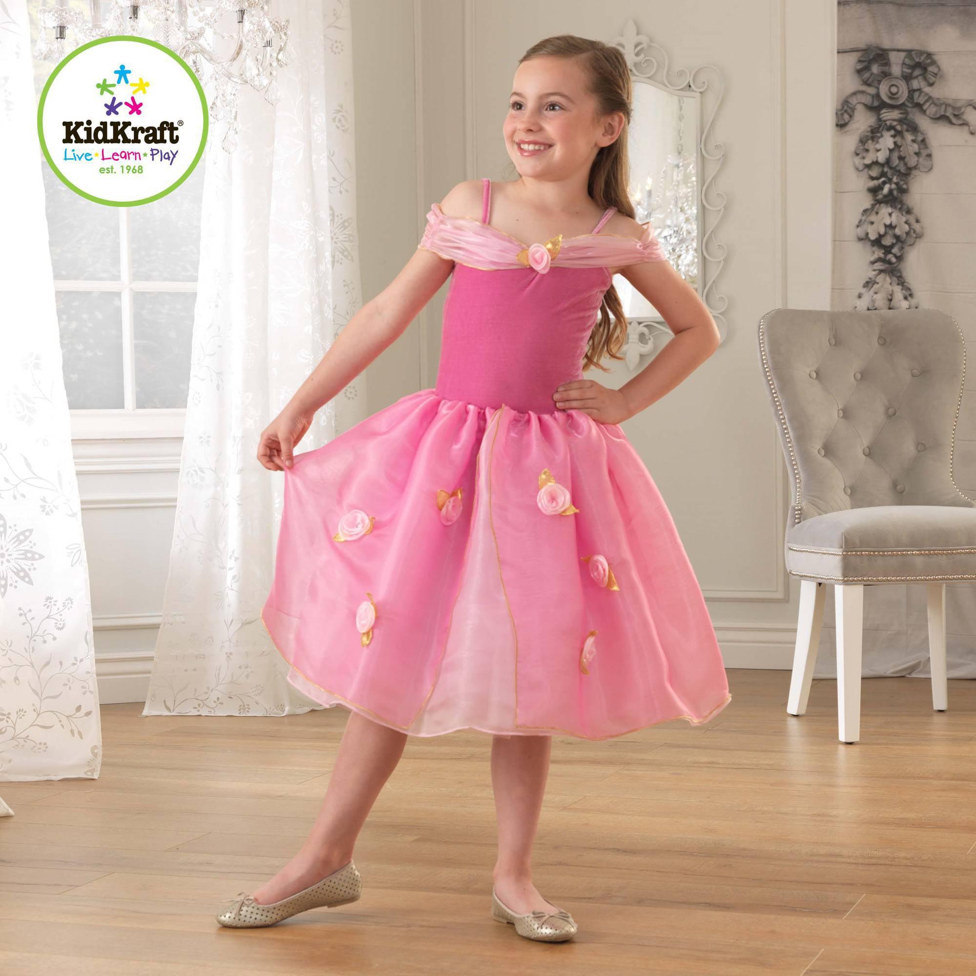 KidKraft Pink Rose Princess Dress Up Costume