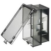 Arlington Industries 669045 Standard Size In-And-Out Weatherproof In-Use Clear Cover