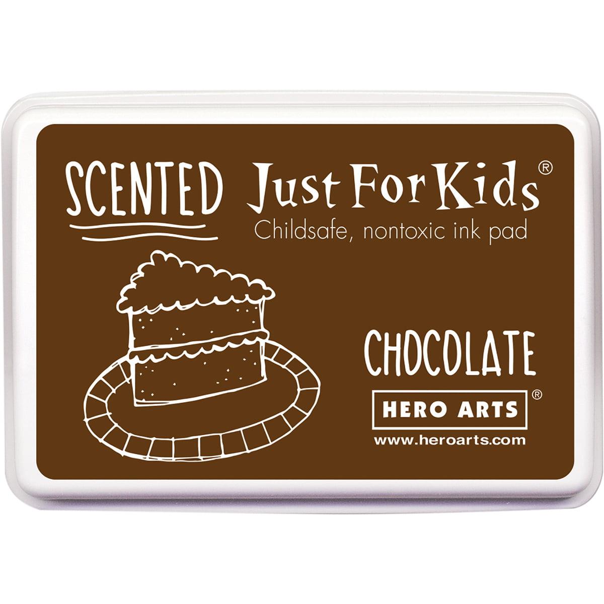 Hero Arts Kids Scented Inkpad-Chocolate