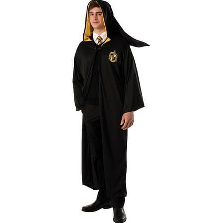 Morris Costumes RU888344 Hufflepuff Robe Adult - Hufflepuff Costume
