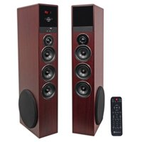 Tower Speaker Home Theater System w/Sub For LG SK8000 Television TV-Wood