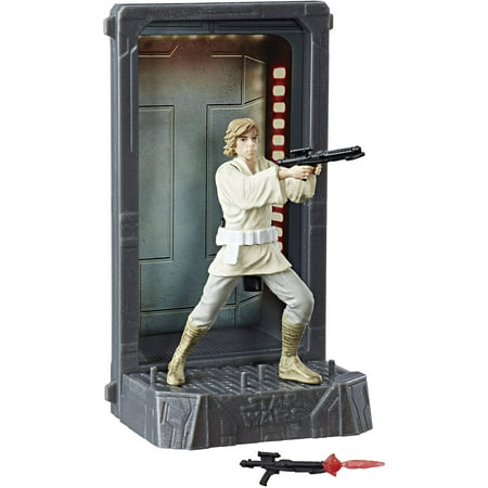 Star Wars The Black Series Titanium Series Luke - Star Wars 7 Luke Skywalker