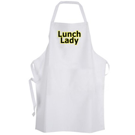 Aprons365 - Lunch Lady – Apron – School Funny Humor Chef Cook Food Mom