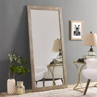 """Rustic Floor Mirror Multiple Finishes 66"""" x 32"""" by Naomi Home"""