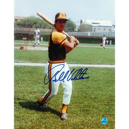MLB - Bobby Valentine San Diego Padres Autographed 8x10 Photograph - Swinging-