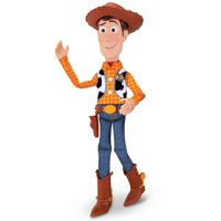 Disney Pixar Toy Story Sheriff Woody Deluxe Pull-String Talking Action Figure