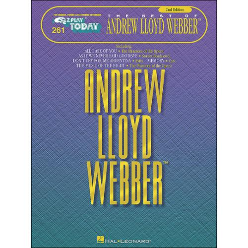 Hal Leonard EZ Play Today 261 The Best of Andrew Lloyd Webber 2nd Edition