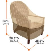 Classic Accessories Veranda Patio Chair Cover Durable And Water