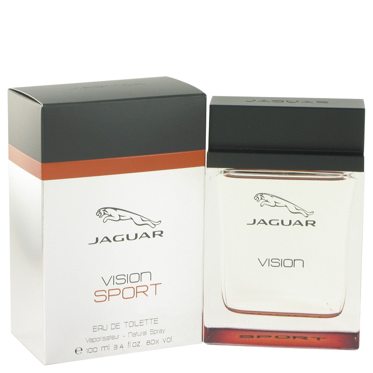 Jaguar Jaguar Vision Sport Eau De Toilette Spray for Men 3.4 oz