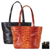 Raika NI 152 BLK Zip Tote Bag - Black