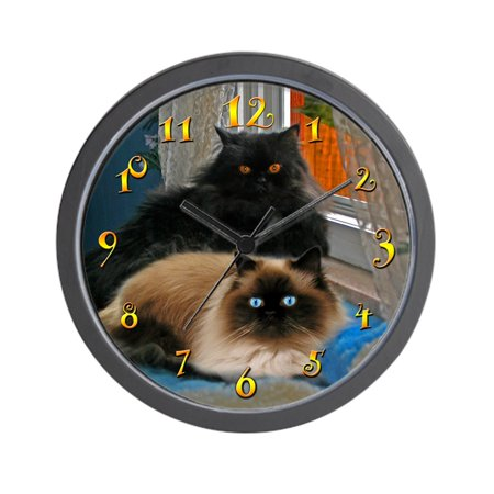 CafePress - BLACK PERSIAN & HIMALAYAN CATS - Unique Decorative 10