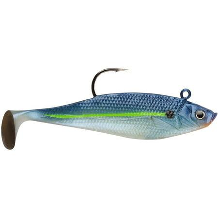 Storm Wildeye Swim Shad 3-inch Fishing Lures (3-Pack) - Blue Steel -