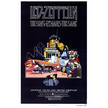 The Song Remains the Same (1976) 27x40 Movie Poster