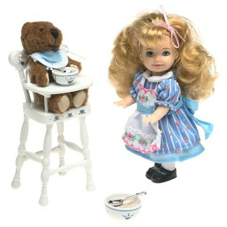 Barbie Goldilocks and the Three Bears Kelly Storybook Collectible for $<!---->