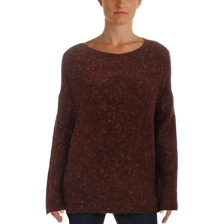 Max Studio Womens Wool Blend Winter Pullover Sweater