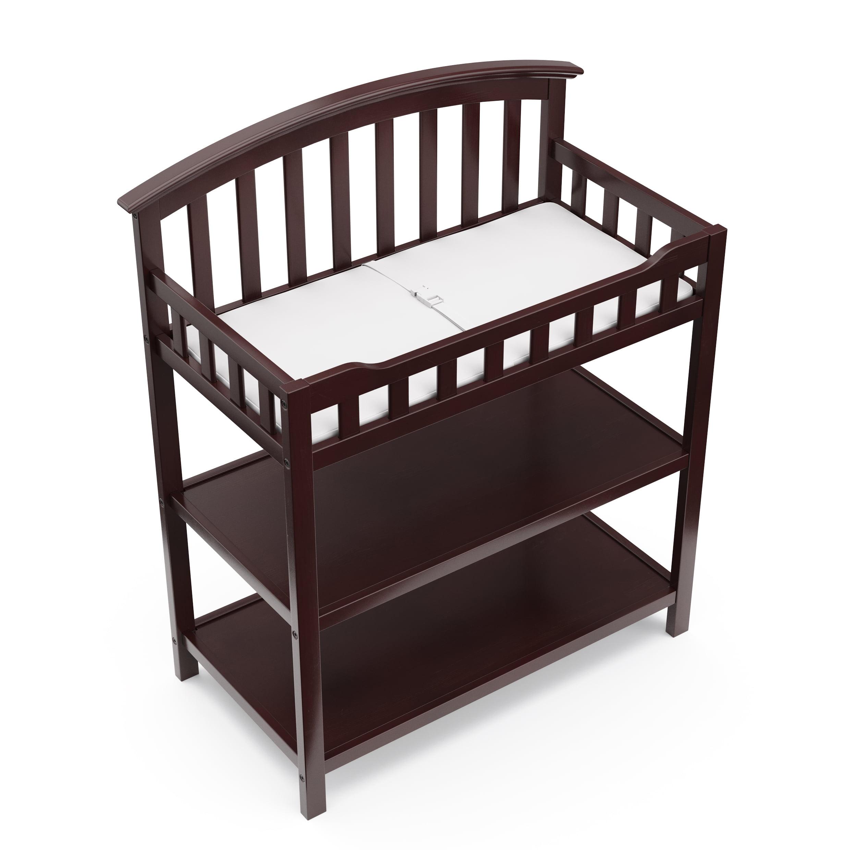 Graco Baby Changing Table Pebble Gray Walmart Com Walmart Com