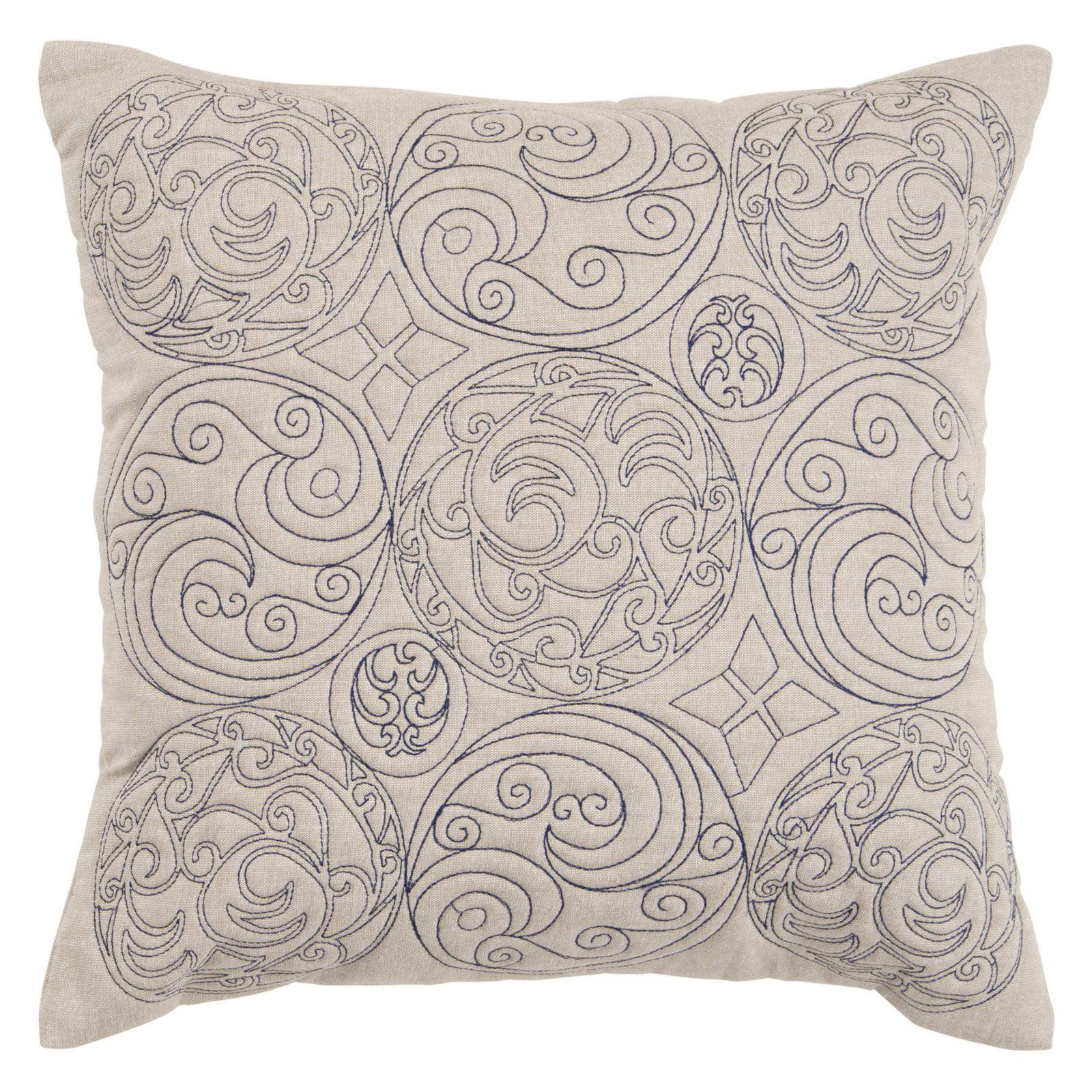 Surya Ornaments Decorative Pillow - Beige
