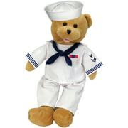 "Chantilly Lane 19"" American Hero Navy Bear Sings Anchors Aweigh"