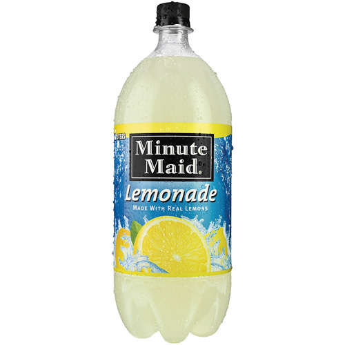 Walmart Credit Card Review >> Minute Maid: Lemonade, 2 L - Walmart.com