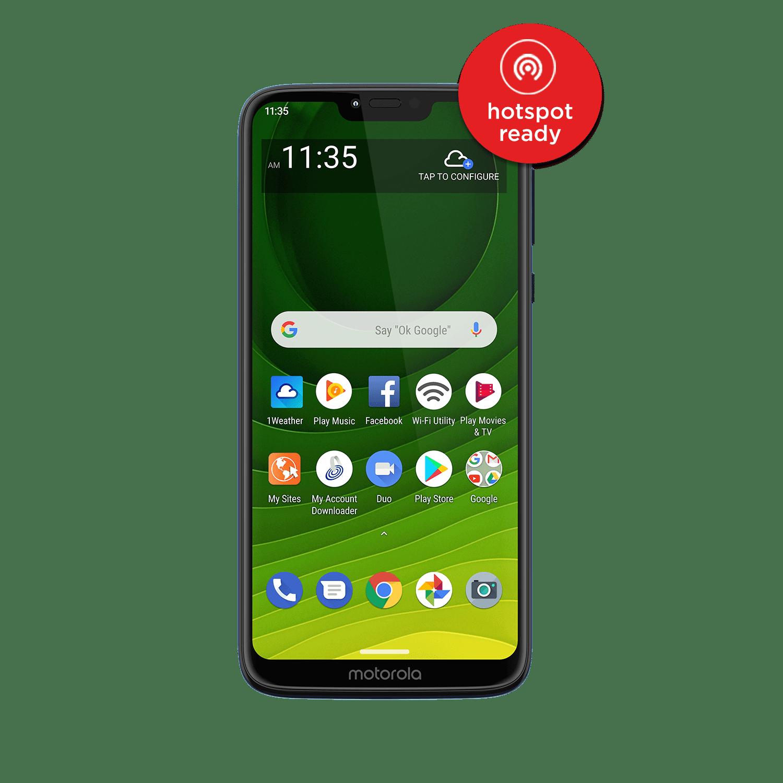 Straight Talk Moto g7 Optimo Maxx Prepaid Smartphone - Walmart.com