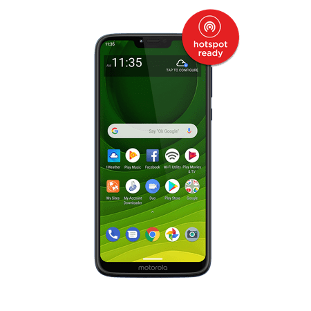 Straight Talk Moto g7 Optimo Maxx Prepaid Smartphone