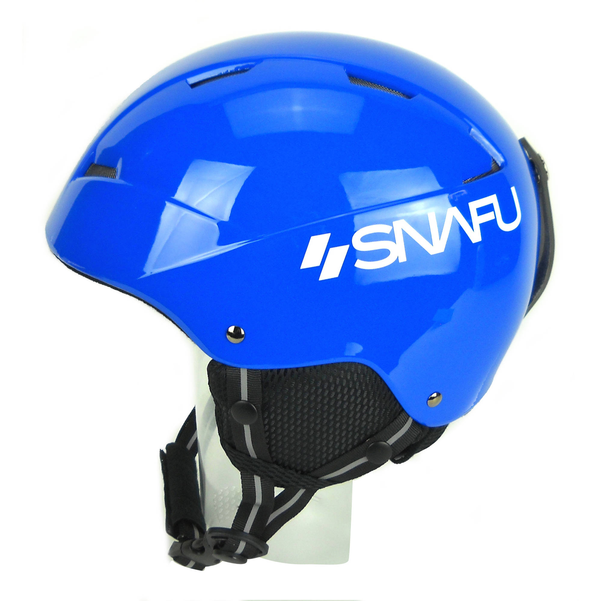 SNAFU Winter Sports Helmet, Gloss Blue, XS by